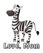 Love, Mom - DancingZebra