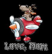 Love, Mom - DogFlyingPlane