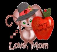 Love, Mom - ThanksgivingMouse