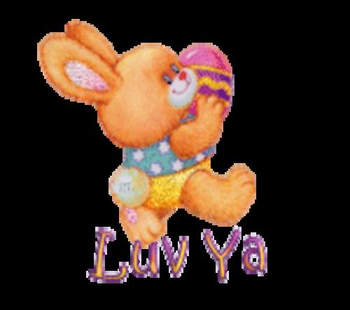 Luv Ya - EasterBunnyWithEgg16
