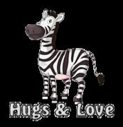 Hugs & Love - DancingZebra