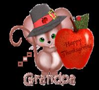 Grandpa - ThanksgivingMouse