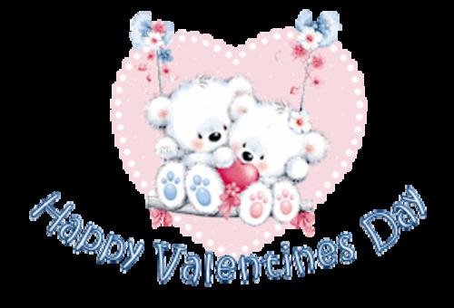 Happy Valentines Day - ValentineBearsCouple