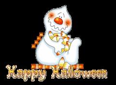 Happy Halloween - CandyCornGhost