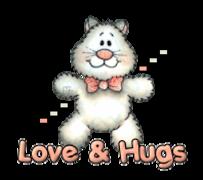 Love & Hugs - HuggingKitten NL16