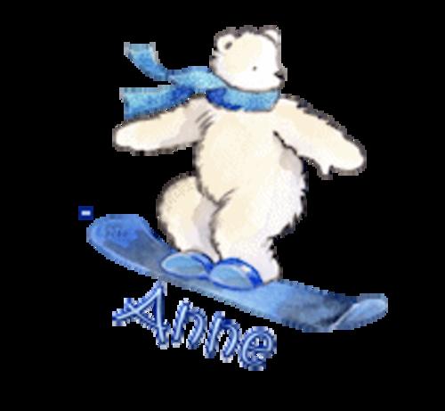 Anne - SnowboardingPolarBear