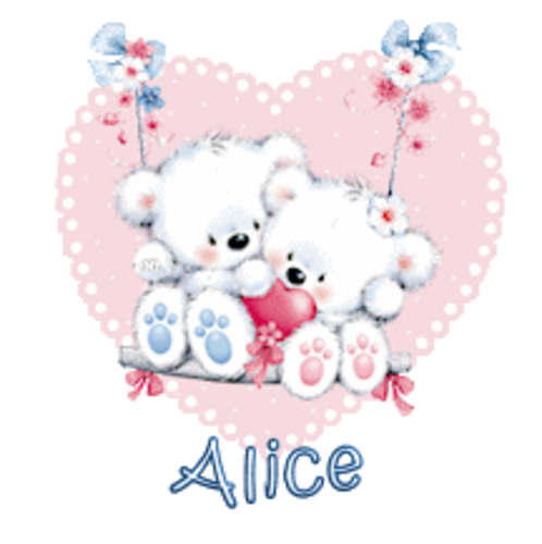 Alice - ValentineBearsCouple