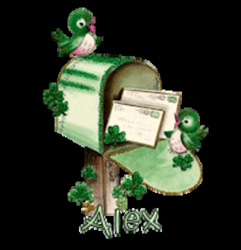 Alex - StPatrickMailbox16