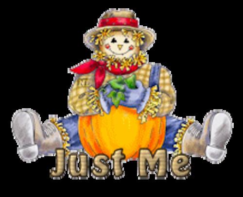 Just Me - AutumnScarecrowSitting