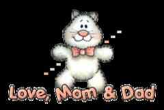 Love, Mom & Dad - HuggingKitten NL16