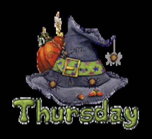 DOTW Thursday - CuteWitchesHat