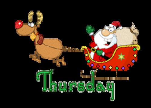DOTW Thursday - SantaSleigh