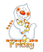 DOTW Friday - CandyCornGhost