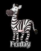 DOTW Friday - DancingZebra
