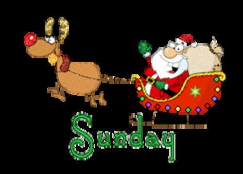 DOTW Sunday - SantaSleigh