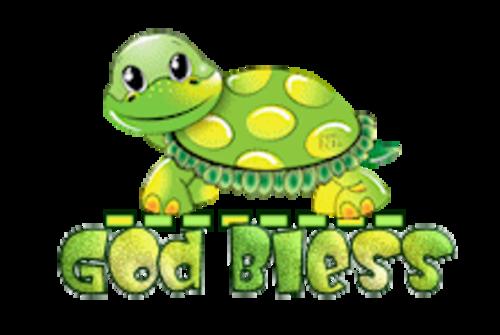 God Bless - CuteTurtle