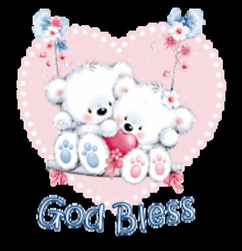God Bless - ValentineBearsCouple
