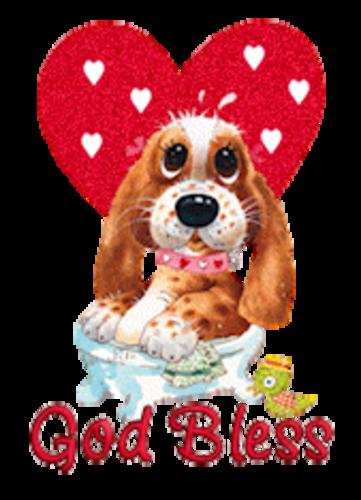 God Bless - ValentinePup2016