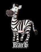 Barb - DancingZebra