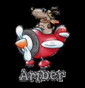Amber - DogFlyingPlane