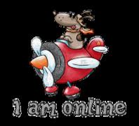 I am online - DogFlyingPlane