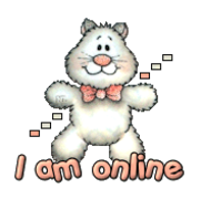 I am online - HuggingKitten NL16