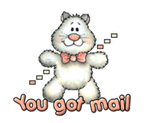 You got mail - HuggingKitten NL16