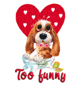 Too funny - ValentinePup2016