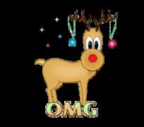 OMG - ChristmasReindeer