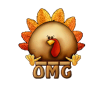 OMG - ThanksgivingCuteTurkey