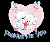 Praying for You - ValentineBearsCouple2016