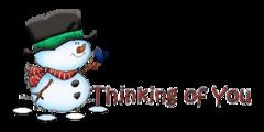 Thinking of You - Snowman&Bird