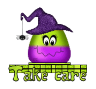 Take care - CandyCornWitch