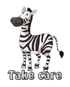 Take care - DancingZebra