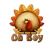 Oh Boy - ThanksgivingCuteTurkey