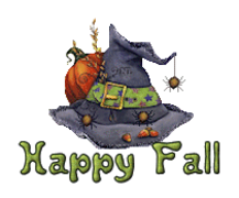 Happy Fall - CuteWitchesHat