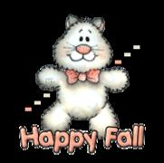 Happy Fall - HuggingKitten NL16