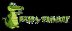 Happy Summer - CrocodileTeeth
