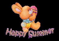 Happy Summer - EasterBunnyWithEgg16