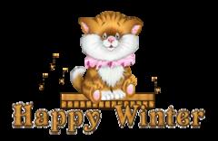 Happy Winter - CuteKittenSitting