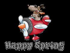 Happy Spring - DogFlyingPlane