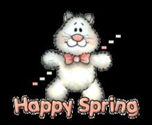 Happy Spring - HuggingKitten NL16