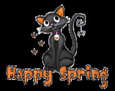 Happy Spring - HalloweenKittySitting