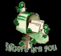Where are you - StPatrickMailbox16