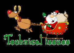Technical issues - SantaSleigh