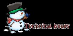 Technical issues - Snowman&Bird