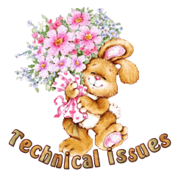 Technical issues - BunnyWithFlowers