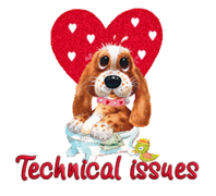 Technical issues - ValentinePup2016