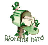 Working hard - StPatrickMailbox16