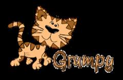 Grumpy - CuteCatWalking